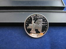 2001-S Silver Quarter NEW YORK Deep Cameo Mirror Proof Upper Grading Ranges