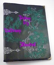 Poison Herbs Faux Leather Covered Ring Binder/File - Wiccan /Pagan/Witch