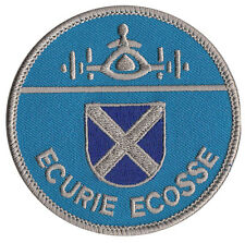 Ecurie Ecosse Jaguar racing Scottish embroidered patch