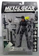 Metal Gear Solid Tactical Espionage Action SOLID SNAKE McFarlane '98 NIP Variant