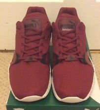 Mens Puma Trainers XT S Speckle Trinomic Rio Red-Black Size 10 Brand New
