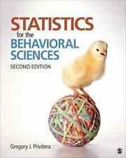 Statistics for the Behavioral Sciences by Gregory J. Privitera (2014, )softcover