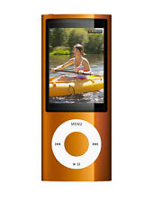Official Apple iPod Nano 5th Gen Orange *VGWC*+Warranty!!