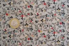 coupon de tissu patchwork japonisant gris MAKOWER petits motifs 45x55cm