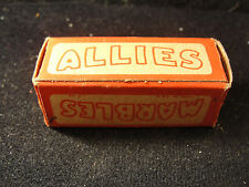 Alley Agate marbles in original box ALLIES