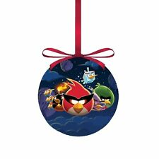 "Angry Birds in Space Decoupage Ball Ornament, 3.15"",  by Kurt Adler"