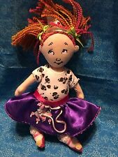 "FANCY NANCY 9"" Plush Doll Stuffed Toy"