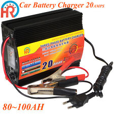 12V 20A Car Battery Charger Motorcycle Battery Charger Lead Acid Charger 220V IN