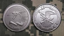 Challenge Coin National Rifle Association NRA Browning M2 MA Deuce WWII-Current