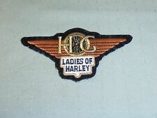 Harley Owners Group - Ladies Of Harley Patch