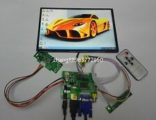 HDMI+VGA+2AV+Rear View+Remote Drive Board+10.1inch B101UAN02  IPS  LCD ZH345