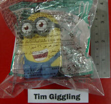 Despicable Me 2 McDonalds 2013 Happy Meal Minion Toy-Tim Giggling
