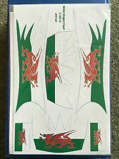 Becc Flashes Welsh Dragon - Flags and Decals