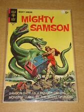MIGHTY SAMSON #14 NM- (9.2) GOLD KEY COMICS MAY 1968
