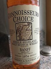 CONNOISSEURS CHOICE - BANFF 1974/1992 Single Highland Malt Scotch Whisky