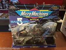 1993 Galoob Micro Machines Space Babylon 5 Set #3 Collections MOC