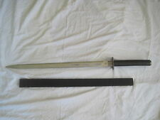 pre-owned Sword w/ sheath Black Galaxy Ninja style Bud K BK - 385 Pakistan