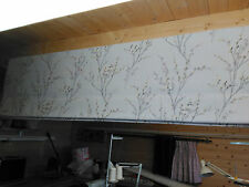 Roman Blind, Laura Ashley Pussy Willow  Dove Grey(Made to measure)