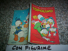 TOPOLINO LIBRETTO N.270 ORIGINALE MONDADORI DISNEY 1961 CON BOLLINO E FIGURINE