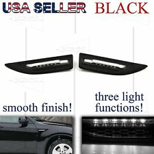 FOR CADDY AND MAZDA LED FENDER GRILLE SIDE MARKER +PARKING/PUDDLE LIGHTS BLACK
