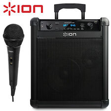 ION Block Rocker IPA76A Wireless Bluetooth Portable Speaker Sound System 50W NEW