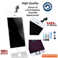 WHITE Retina LCD Replacement & Digitiser Touch Screen Grade *AAA* for iPhone 5S