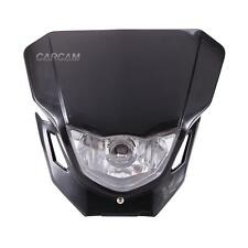 Black Headlight Fairing For Suzuki DRZ 400 400SM 400E RM 80 125 250 RMZ250