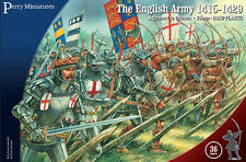 **BNIB** PERRY MINIATURES THE ENGLISH ARMY 1415 - 1429 AGINCOURT TO ORLEANS