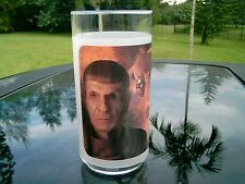 SPOCK STAR TREK SEE THROUGH GLASS  CLEARANCE PRICE