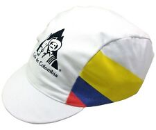 CAFE' DE COLOMBIA RETRO CYCLING TEAM CAP - Vintage Fixed Gear - Made in Italy