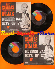 LP 45 7'' TELLY SAVALAS Rubber bands & bits of string If 1974 MCA cd mc dvd