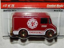 Hot Wheels Combat Medic - Fire Rods #17 of 26 - 2008 - VERY RARE! - New