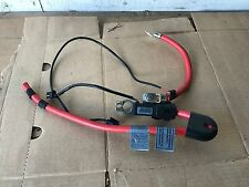 BMW OEM E63 E64 645 650 M6 REAR TRUNK BATTERY CABLE TERMINAL POSITIVE
