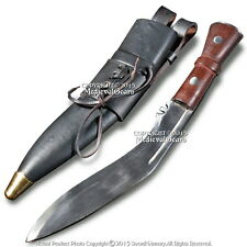 Gurkha Khukuri Nepal Kukri Machete Full Tang Fixed Blade Knife Carrying Sheath