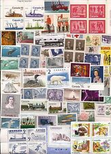 vintage MNH MINT UNUSED FULL GUM CANADA Canadian postage stamps lot A43B
