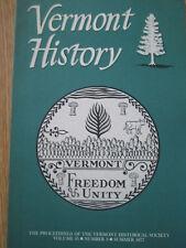 1977 Vermont Historical Magazine  New Hampton Institute Building at Fairfax 1853