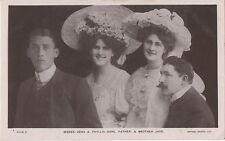 POSTCARD ACTRESSES  Dare  Sisters  &  Family