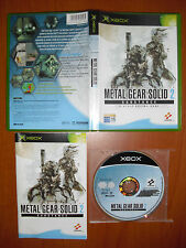 Metal Gear Solid 2 Substance Xbox Pal-España ¡¡COMPLETO Y EN BUEN ESTADO!!
