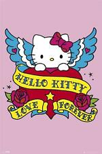 Hello Kitty : Tattoo - Maxi Poster 61cm x 91.5cm (new & sealed)