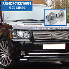 Range Rover Vogue Side Wing Repeater Lamps - Crystal Clear Lens - 2010