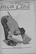 """Mon Ciné N° 42/1922 - Dudule, Jean Lorette, """"Roxelane"""", Greyjane"""