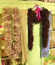 Job lot of women's foulards, 4 au total-tricot/polaire/brillant/laine