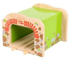 DOUBLE TUNNEL for Wooden Train Track Set ( Brio Thomas ELC Bigjigs ) ~ NEW BOXED