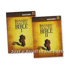 Banned from the Bible: Complete Collection 1 & 2 Box / DVD Set(s) NEW!