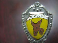 Vintage Mule Graphic Missouri Decorative Collectible Miniature Spoon Japan