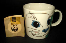 VTG Arabia Finland World Wildlife Fund COFFEE MUG TEA CUP Baby Seal Bald Eagle