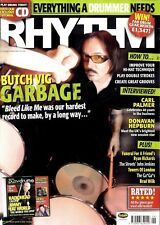 RHYTHM DRUMMER MAGAZINE +CD 2005 JUN BUTCH VIG, CARL PALMER, DONAVAN HEPBURN, TH