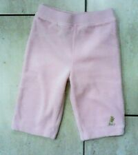 Baby Girl Juicy Couture Pink Velour Tracksuit Trousers Age 6-12 months