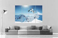 BACKFLIP SNOWBOARD Poster Grand format A0 Print 02