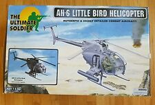 "ULTIMATE SOLDIER 1/6 SCALE US ARMY AH-6 ""LITTLE BIRD"" ASSAULT HELICOPTER W/PILOT"